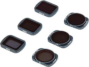 Lens Filters for DJI OSMO Pocket 4K Gimbal Handheld Camera Lens Set, Multi Coated Filters Pack Accessories (6 Pack) ND4, ND8, ND16, ND4/CPL, ND8/CPL, ND16/CPL