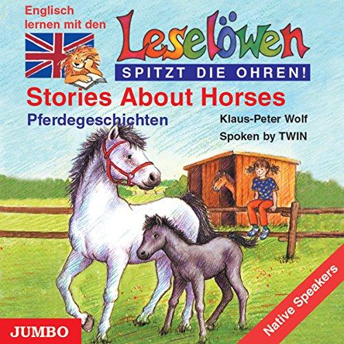Stories About Horses - Pferdegeschichten. Englisch lernen mit den Leselöwen Titelbild