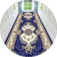 KKCF 廊下のカーペット、 マイクロファイバー バッキングラバー滑り止め 3Dモダンロングカーペット リビングルームデコレーションフロアマット、 サイズはカスタマイズ可能 (Color : A, Size : 1.1x5m)
