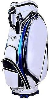 Golf Push Cart Golf Carts, Trolleys,Golf Bag,Multifunctional Portable Leather Club Bag Unisex Suitable for Golf Course,Lar...