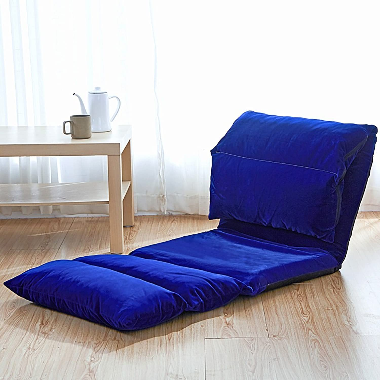 Comfortable Sofa, Lazy Sofa Foldable Single Rectangle Backrest Sofa (color   21 )