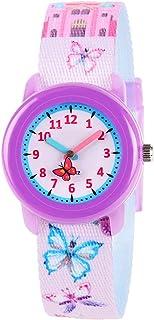 Venhoo Kids Watches Cute Cartoon Waterproof Fabric Strap Children Toddler Wrist Watch Time Teacher Birthday for 3-10 Year Boys Girls Little Child
