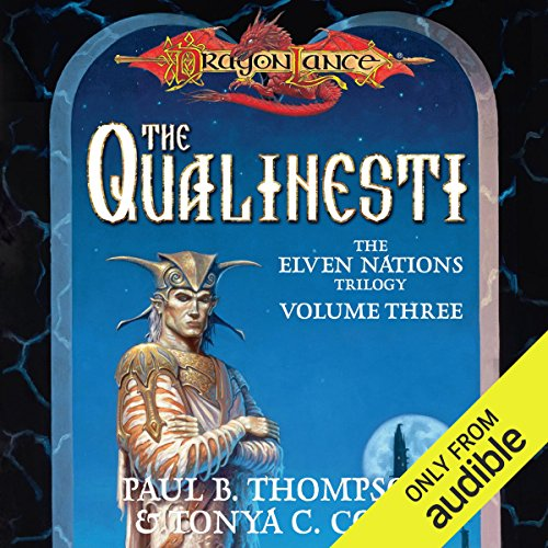 The Qualinesti audiobook cover art