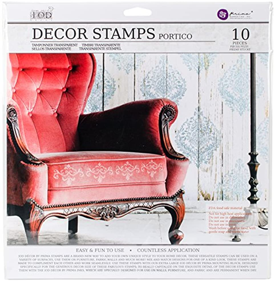 Prima Marketing IOD Decor Stamps - Portico