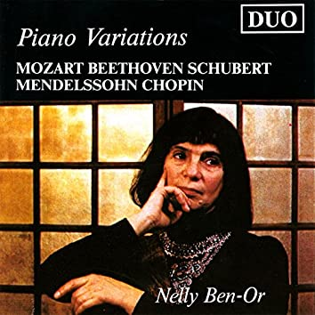 Nelly Ben-Or: Piano Variations