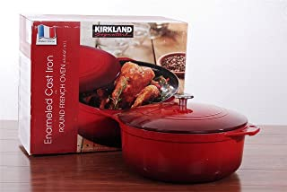 Best kirkland signature enameled cast iron french oven Reviews