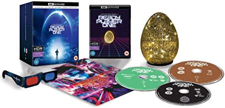 Ready Player One - 4K Ultra HD Exclusive Egg Light Collector's Edition (Includes 3D Blu-ray & Blu-ray)