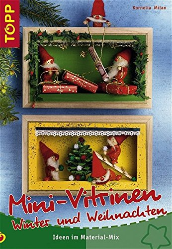 Mini-Vitrinen Winter-Weihnachten