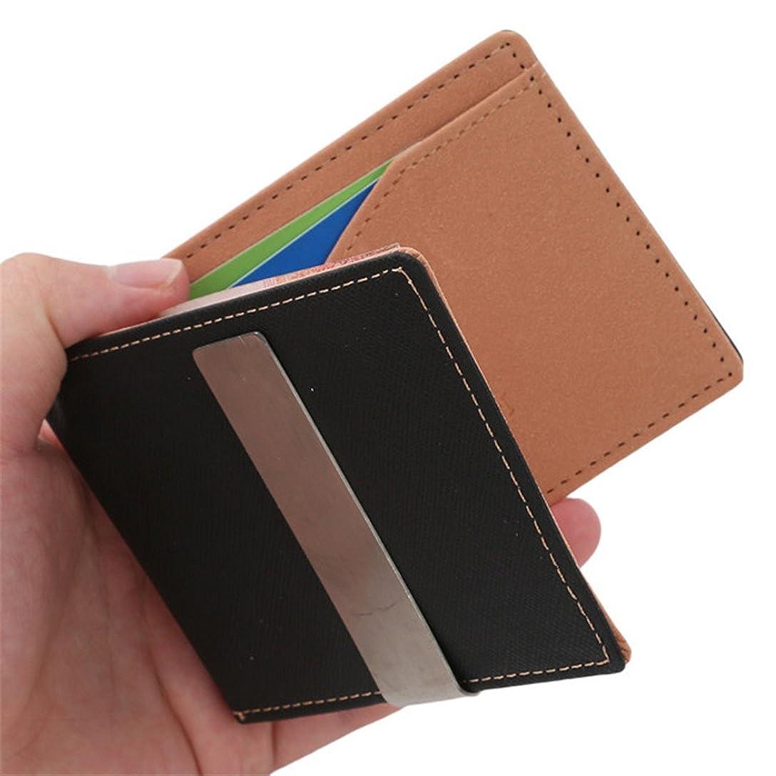 反対した後有望travet MagicクレジットカードIDホルダーマネークリップ財布、フロントポケット財布 As Description 17