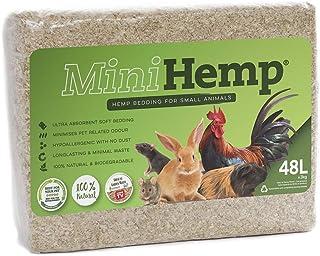 OZ Hemp Hemp Mini Bedding for Small Animals, Brown