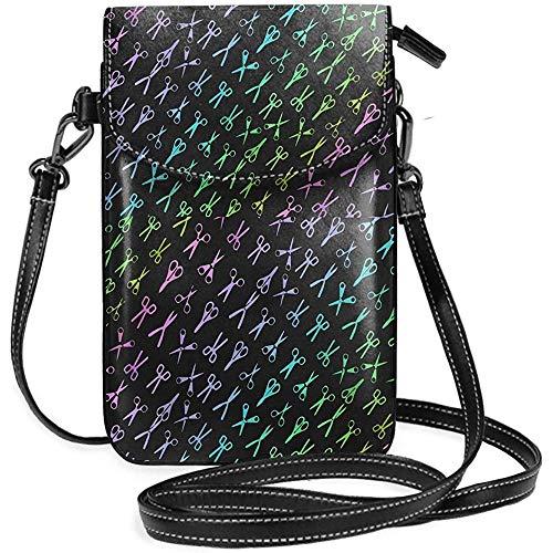 Interieur shop mobiele telefoon portemonnee WalletWomen 's Small Color schaarsen kapper kapper schoudertas handtas