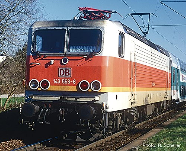 H0 RO E-Lok BR 143 S-Bahn, grau oran