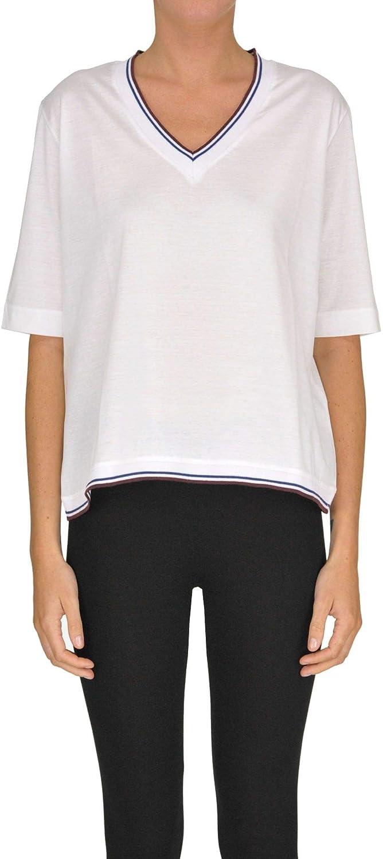 . Sette Women's MCGLTPS000005068E White Cotton TShirt