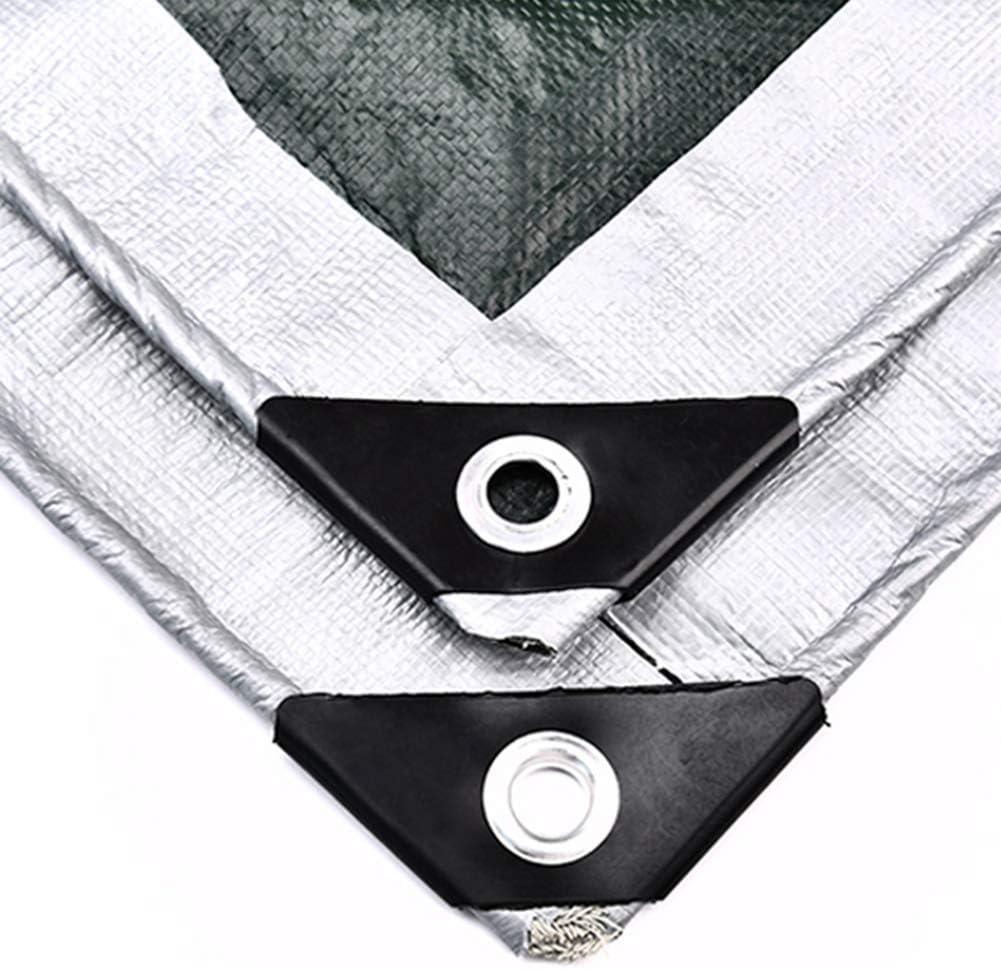 LXLA Silver Tarps Heavy Multi-Purpose Max 40% OFF Rip-Resis Duty Finally resale start Waterproof