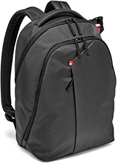 Manfrotto NX DSLR Backpack Camera Backpack; mafrotto; Protection; Laptop Compartment; DSLR and Two Lenses; Tripod Connection; Padded dividers Manfrotto NX DSLR Backpack Grey, Grey (MBNXBPVGY)