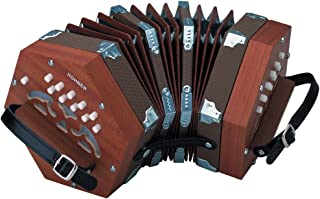 Hohner D40 Concertina w/ Padded Gig Bag