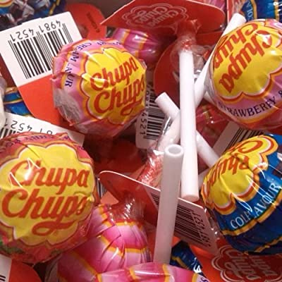 30 x chupa chups lollies assorted flavours (best of) 30 x Chupa Chups Lollies Assorted Flavours (Best of) 61BI3b9jb2L