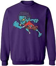 Eye-Popping One-Legged Zombie Kid Running After You! - Sweatshirt