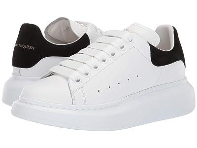 Alexander McQueen Oversized Sneaker (White/Black) Women