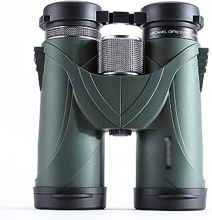 FANGFHOME télescope Jumelles 10x42 Haute Puissance, télescopes Grand oculaire, télescope de Jumelles Portables pour l'obse...