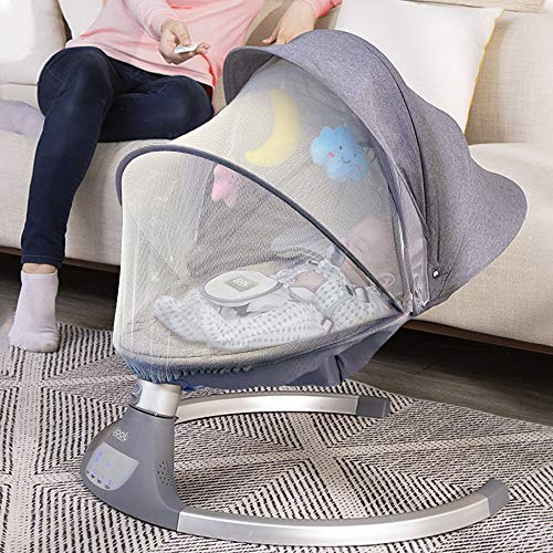 61BI7vXBRoL 10 Best Portable Baby Swings on the Market 2021 Review