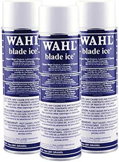 Wahl Blade Ice Clipper Blade Coolant - Lubricant & Cleaner (3 Pack)