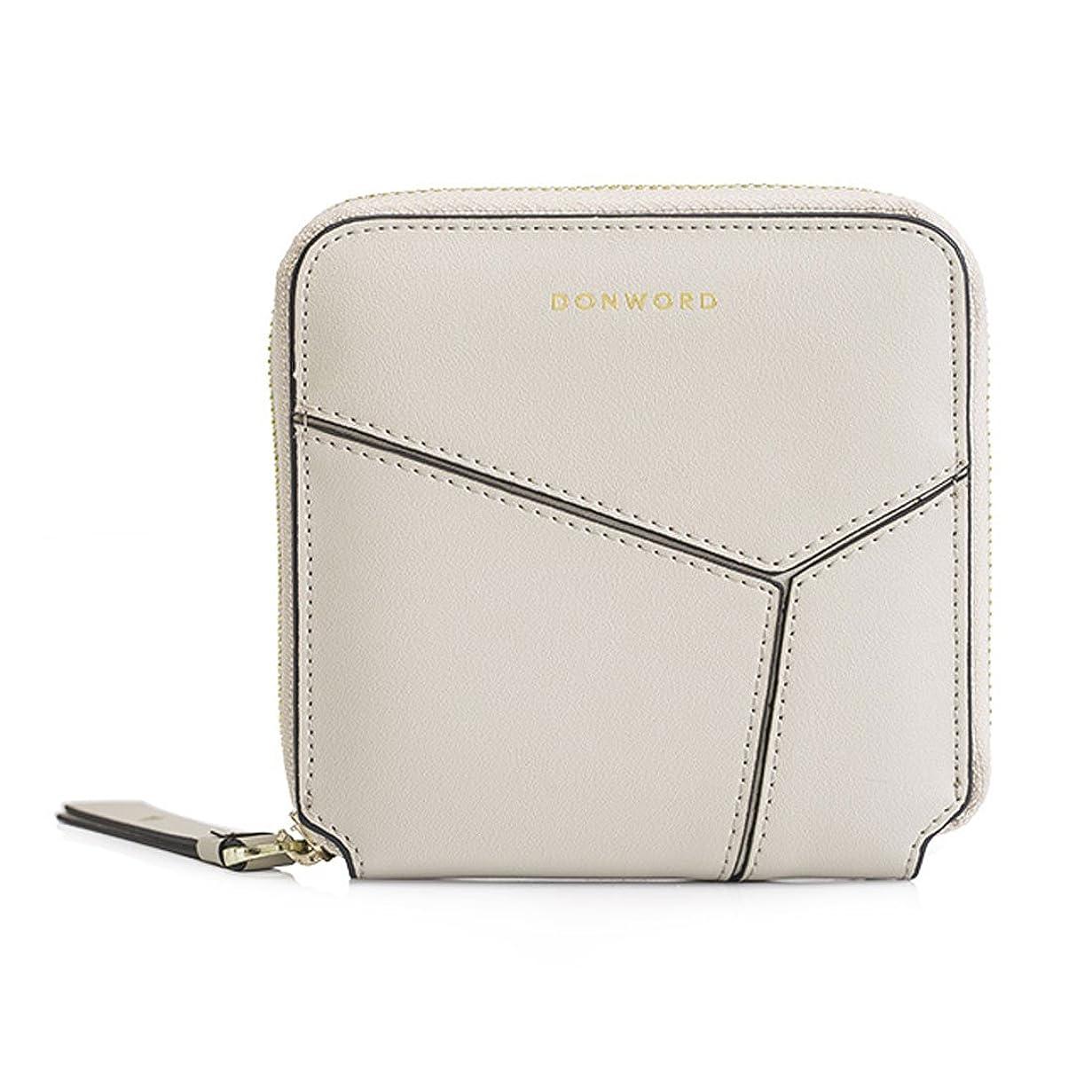 原因名前で制限された[Nana_Collection(ナナコレクション)] コンパクト 薄い 小さいのに大容量 牛皮 革財布 女性 ギフト 全5色