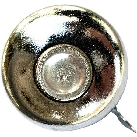 1 stück Fahrrad Lenker Metall Ring Schwarz Fahrradklingel Horn Sound Alarm   ee