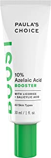 Paula's Choice BOOST 10% Azelaic Acid Booster Cream Gel, Licorice Extract & Salicylic Acid, Oil-Free Skin Brightening Serum, 1 Ounce