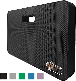 Gorilla Grip Original Premium Thick Kneeling Pad, Comfortable Foam Mat to Kneel On, Knee Pad Cushion for Gardening, Yard Work, Yoga, and Bath Room Floor for Baby Bath, 17.5 x 11 Inch x 1.5 Inch, Black