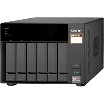 QNAP TS-673-4G 8 Bay NAS with AMD R-Series Quad-core 2.1GHz, and Four 1GbE Ports
