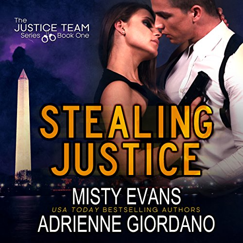 Stealing Justice     The Justice Team, Book 1              By:                                                                                                                                 Misty Evans,                                                                                        Adrienne Giordano                               Narrated by:                                                                                                                                 Adam Hanin                      Length: 9 hrs and 19 mins     56 ratings     Overall 3.9