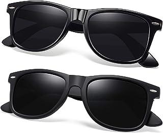 Unisex Polarized Sunglasses Men Women Retro Designer Sun...