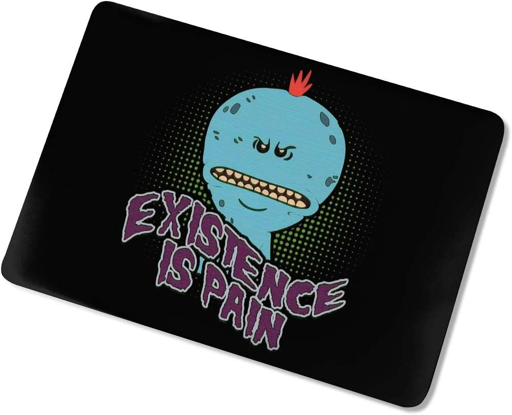 KarleDeal Mr Meeseeks Fashion Laptop case New 13 Man Women Personalized Touch 15 Protective case White touch15