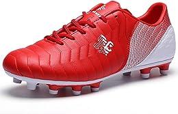 Saekeke Chaussures de Football pour Enfants FG/TF