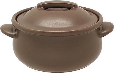 井澤コーポレーション 土鍋 ブラウン 420ml(満水時) ラカルト オーブンウェア グリル ポット 113127