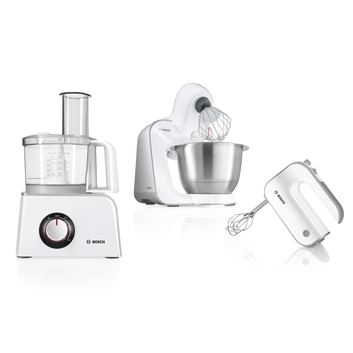 Bosch MCM4000, Blanco, 3629 g, Plástico, Acero inoxidable, Plástico, Acero inoxidable - Procesador de alimentos: Amazon.es: Hogar