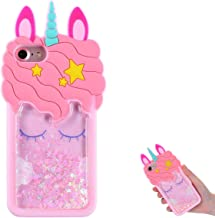 TopSZ Quicksand Unicorn Bling Case for iPod Touch 5/6,Cute Silicone 3D Cartoon Cool..