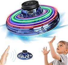 HQKJ Drone Juguete para niños,Mini UFO Drone, 3D Giros, Batería Recargable, Detección Automática de Obstáculos con Luz LED, Gran Regalo para niños y Adultos