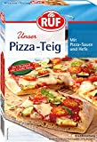 RUF Pizza-Teig vegan mit Hefe und Pizza-Sauce, 10er Pack (10 x 315 g)