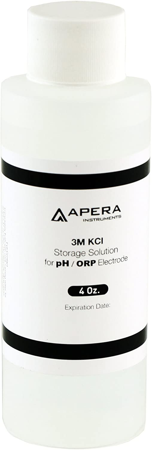 Apera Instruments 3M KCL Storage Soaking Regular store 8 Solution Sale special price pH for oz.