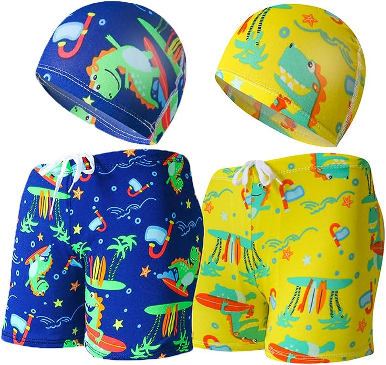 Monvecle Little Boys 2 Pack Swim Trunks Milwaukee Mall B Children Cartoon Detroit Mall Beach
