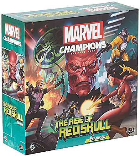 Marvel Champions The Card Game The Rise of Red Skull CAMPAIGN EXPANSION | Strategy Card Game for...