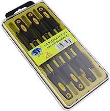 B Blesiya Halbrund Nadelfeilen Schl/üsselfeilen Metallfeilen Stahlfeilen f/ür Flach Sauber nach Bohren 300 mm