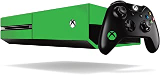 Xbox One Fluorescent Vinyl Wrap / Skin / Cover for Microsoft Xbox One Console: Bright Green