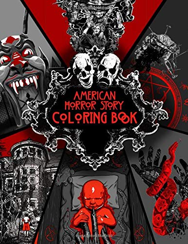 American Horror Story Coloring Book: Freaking TV Show Coloring Books For Adults