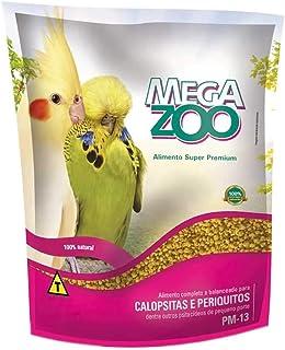 Ração Megazoo para Calopsitas e Periquitos - 350g