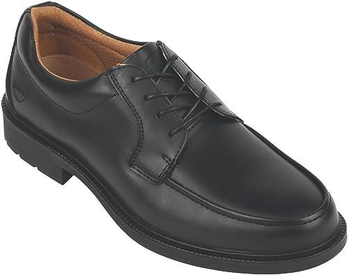 City Knights Derby Cravate Chaussures de sécurité Executive Noir Taille 6