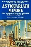 Antiquariato minore. Guida all'acquisto, alla lettura, alla conservazione, al collezionismo dell'oggetto d'arte. Ediz. illustrata