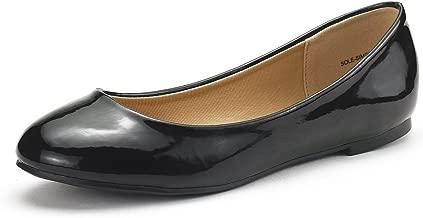 DREAM PAIRS Women's Sole-Simple Ballerina Walking Flats Shoes